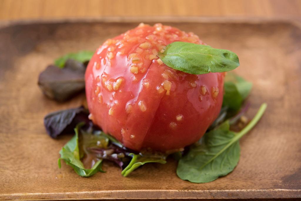 生姜風味の丸ごとトマト